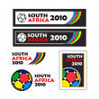 Stock Vector: World cup 2010 teasers and banners