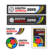 World cup 2010 teasers and banners — Stock Vector