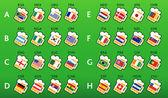 Soccer world championship 2010 — Stock Vector