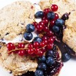 Stock Photo: Blueberry scones
