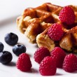 Stock Photo: Waffles