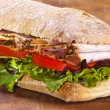Stock Photo: Panini sandwich