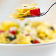 Stock Photo: Tortellini primavera