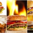 Fast food — Foto Stock