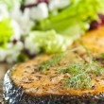 Cooked salmon — Stock Photo