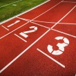 Stock Photo: Track and field