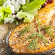 Cooked salmon — Stock Photo #2338713