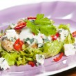 Grilled chicken salad — Foto Stock