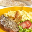 Steak and chips — Stock Photo #2338732