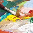 Stock Photo: Artist's palette