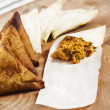 Samosa - Stock Photo
