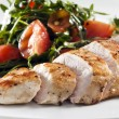Grilled chicken - Foto Stock