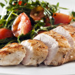 Grilled chicken - Foto de Stock