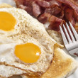 Royalty-Free Stock Photo: Bacon and eggs