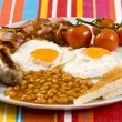 English Breakfast - Stok fotoğraf
