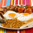 English Breakfast - Foto Stock