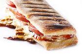 Panini sandwich — Stock Photo