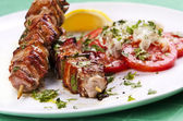 Grilled kebab — Stock Photo