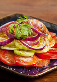 Indian salad — Stock Photo