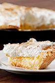 Lemon meringue pie — Stock Photo