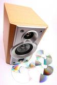 Speaker — Stock Photo