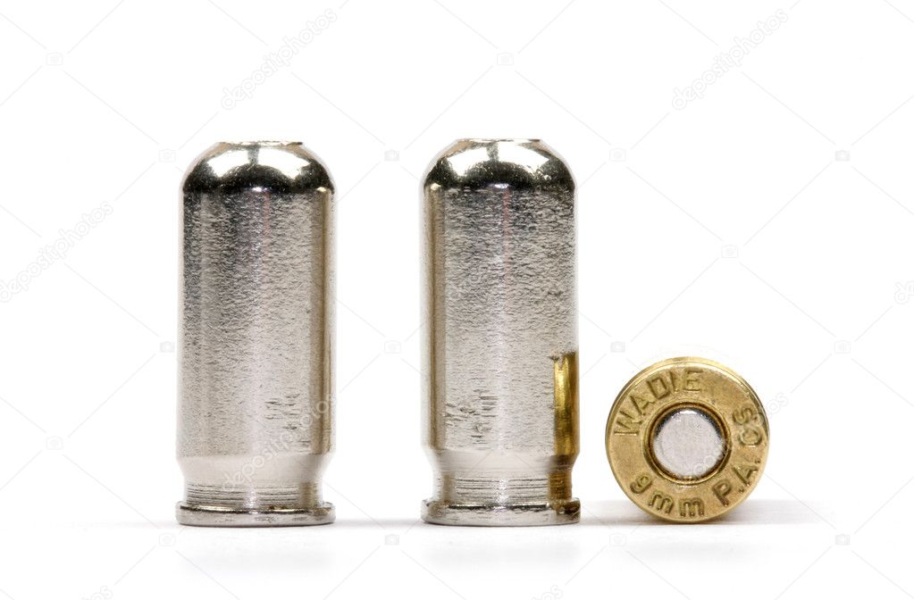 Three cartridge back close up — Stock Photo #2438363