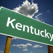 图库照片: Kentucky Road Sign