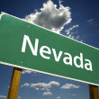 Nevada Green Road Sign — Stock Photo #2328989