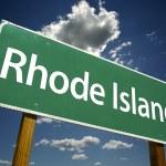 Rhode Island Road Sign — Stock Photo #2329041