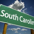 South Carolina Road Sign — Stock Photo
