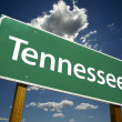 Stock Photo: Tennessee Road Sign