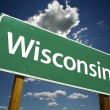 Wisconsin Road Sign — Stock Photo #2329123