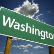 Washington Road Sign — Stockfoto