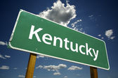 Cartello stradale kentucky — Foto Stock