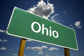 Ohio Road Sign — Stock Photo