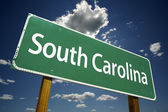 Signo de carretera de carolina del sur — Foto de Stock