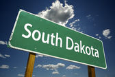 South Dakota Road Sign — Stock Photo