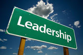 Leadership Road Sign — Stock Photo