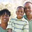 Happy African American Family — Stock Photo #2333106