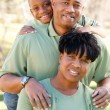 Happy African American Family — Stock Photo #2333133