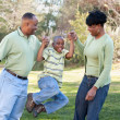 Happy African American Family — Stock Photo #2333173