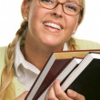 Attractive Student Carrying Her Books — Stock Photo #2346802