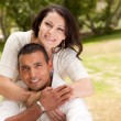 Young Hispanic Couple Outdoors - Foto de Stock  