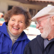 Stock Photo: Happy Senior Adult Couple Enjoying Life