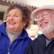 Happy Senior Adult Couple Enjoying Life — Stockfoto