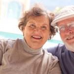 Happy Senior Adult Couple Enjoying Life — Stock Photo #2348296
