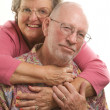 Happy Senior Couple Pose For A Portrait - Foto de Stock  