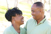 Happy Affectionate Couple Portrait — Stock Photo
