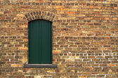 Aged Wall & Window — Stock Photo