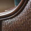 Abstract Rattan Weave Background Macro Image - Stock Photo